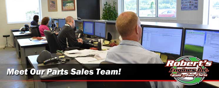 Roberts engines auto parts sales staff